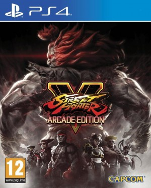 Copertina Street Fighter V Arcade Edition - PS4