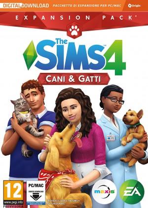 Copertina The Sims 4: Cani & Gatti - PC