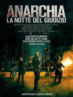 Anarchia - La Notte del Giudizio Cover