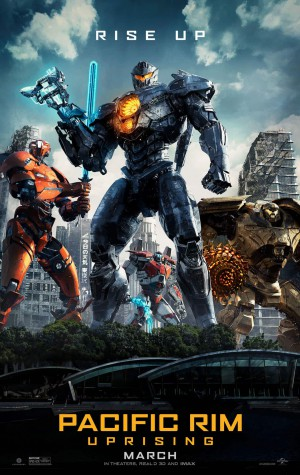 Pacific Rim: Uprising Cover