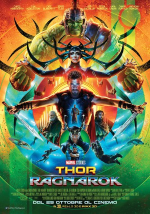 Thor: Ragnarok Cover