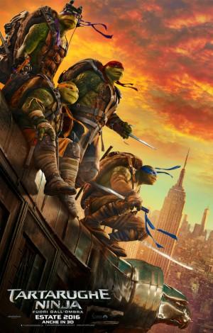 Tartarughe Ninja 2: Fuori dall'Ombra Cover