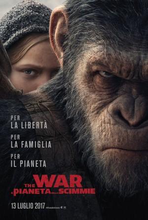 The War - Il Pianeta delle Scimmie Cover