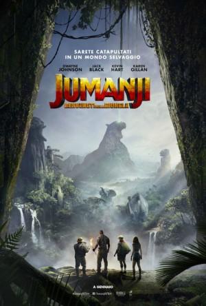 Jumanji: Benvenuti nella Giungla Cover