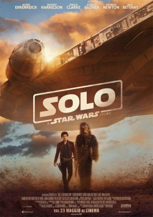 Copertina Solo: a Star Wars Story
