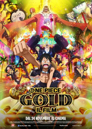 One Piece Gold Cover