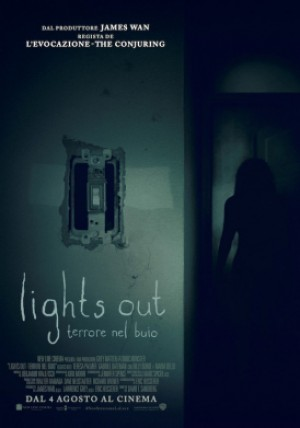Lights Out - Terrore nel Buio Cover