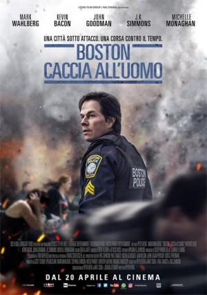 Boston: Caccia all'Uomo Cover