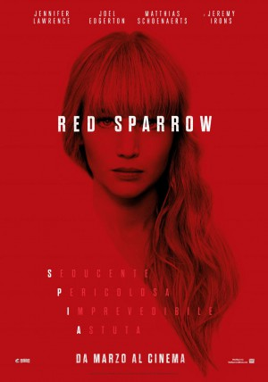 Red Sparrow: L'arte dell'inganno Cover