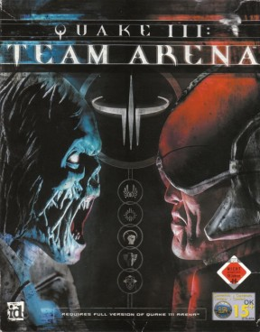 Quake III: Team Arena PC Cover