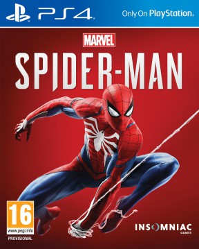 Spider-man PS4 PS4 Cover