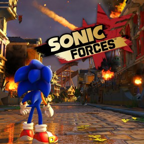Sonic Forces PS4 Cover
