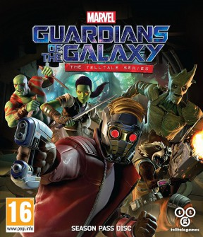 Guardians of the Galaxy - The TellTale Series PC Cover
