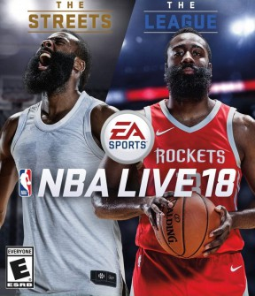 NBA Live 18 Xbox One Cover