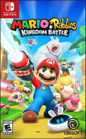 Mario + Rabbids: Kingdom Battle Switch Cover