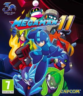 Mega Man 11 Xbox One Cover
