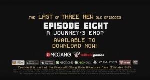 Copertina Minecraft: Story Mode Episode 8 - A Journey's End? - PS4