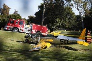 Harrison Ford si schianta con il suo aereo: � grave [UPDATE]