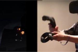 Primo impatto traumatico con la realt� virtuale