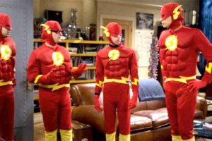 Flash in un episodio della 10ma stagione di The Big Bang Theory?
