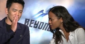 John Cho e Zoe Saldana ci raccontano Star Trek Beyond