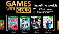 Ecco i titoli ufficiali dei Games With Gold di Agosto