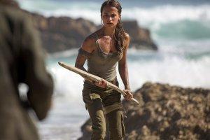 Primi scatti di Alicia Vikander nei panni di Lara Croft