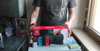 Nintendo Switch: l'unbox di Gamesurf