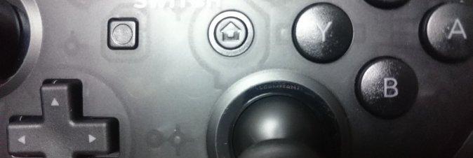 Lo Switch Pro Controller contiene un messaggio segreto