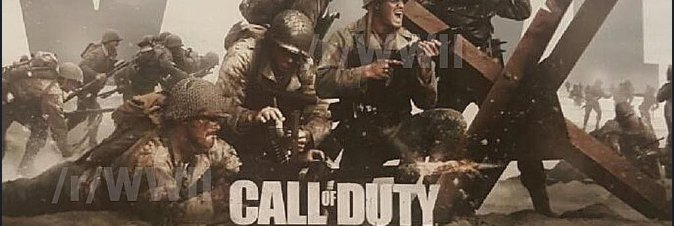 Call of Duty ritorna alla seconda guerra mondiale?