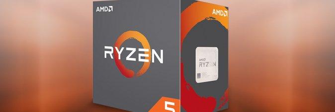 AMD presenta i nuovi processori desktop della serie Ryzen 5