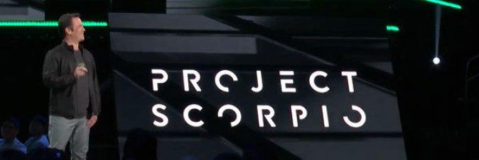 Project Scorpio? Poteva uscire nel 2016