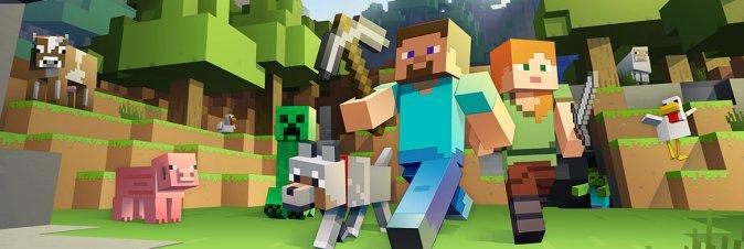 Minecraft in 4K su Xbox Scorpio?