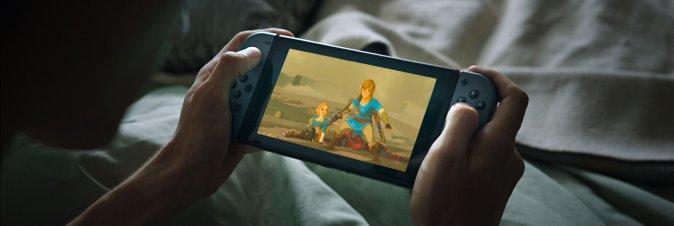 Nintendo Switch si aggiorna