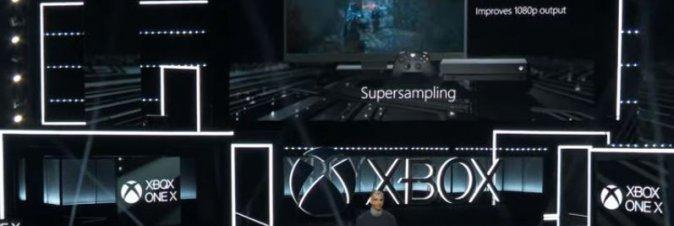 [E3 2017] Il nome definitivo di Scorpio è Xbox One X