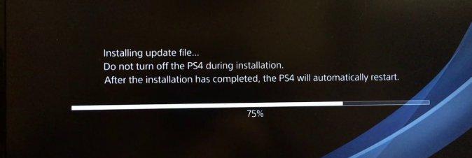 Il nuovo firmware PS4 sta dando problemi