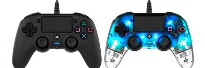 Nacon presenta il compact controller Wired con licenza ufficiale PlayStation 4