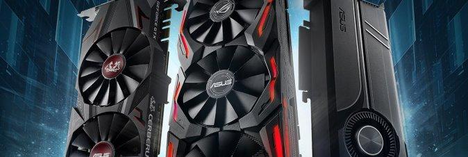ASUS presenta le schede grafiche gaming della serie GeForce GTX 1070 Ti