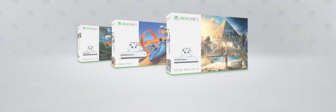 Microsoft mette i bundle Xbox One S a 179 Euro
