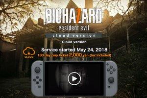 Resident Evil 7 arriva su Switch grazie al cloud