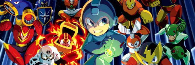 Mega Man Legacy Collection datato su Switch