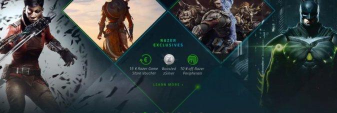 Razer lancia il suo Game Store Digitale