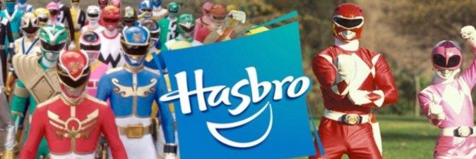 Hasbro si pappa i Power Rangers