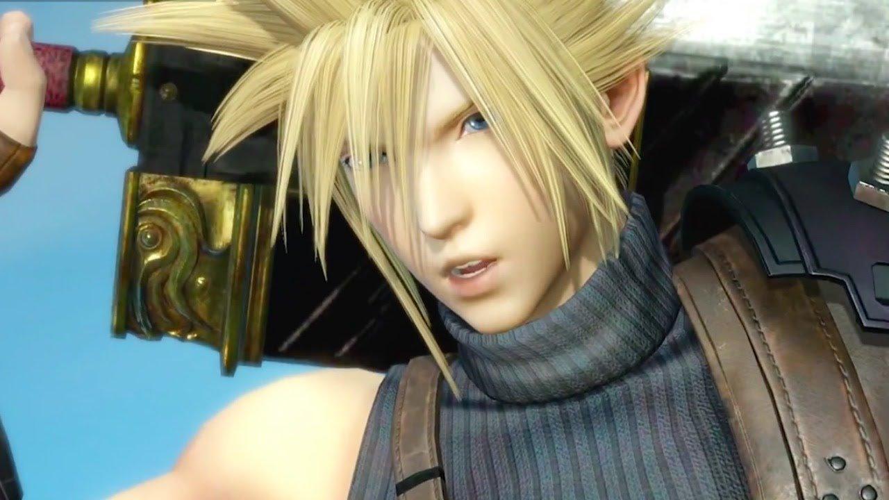 Dissidia Final Fantasy (2015) - Cloud Strife Gameplay