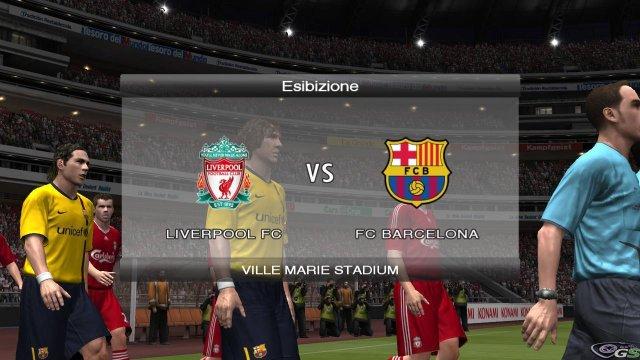 Pro Evolution Soccer 2009 - Immagine 15 di 132