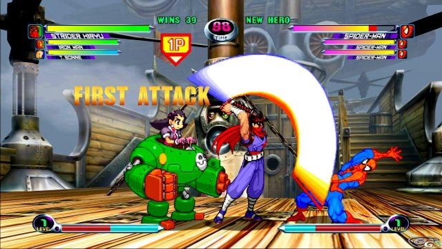 Marvel vs Capcom 2 immagine 17926