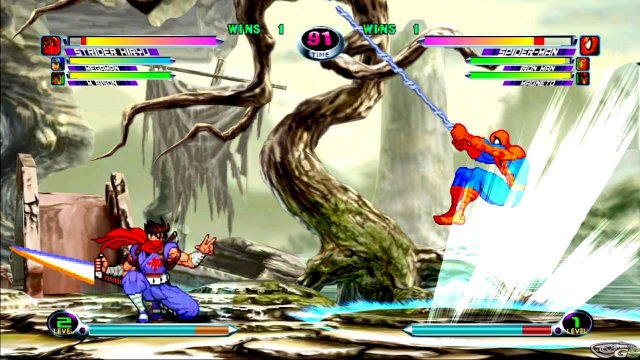 Marvel vs Capcom 2 immagine 17928