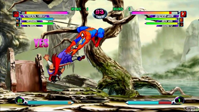 Marvel vs Capcom 2 immagine 17930