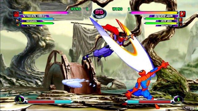 Marvel vs Capcom 2 immagine 17936