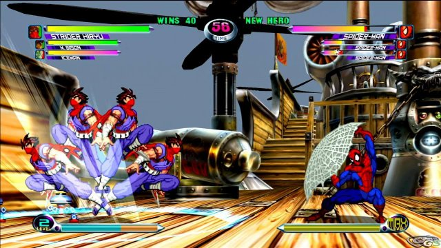 Marvel vs Capcom 2 immagine 17938